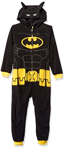 LEGO Batman Big Boys' Costume, Onesie Pajamas, All-in-One