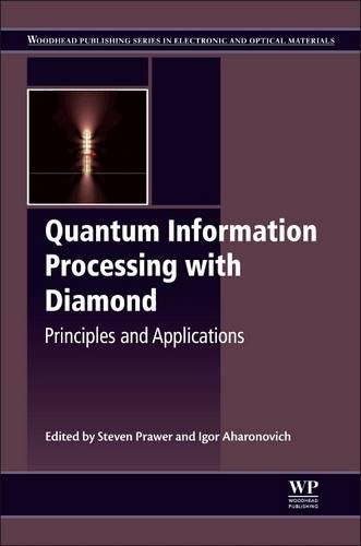 Quantum Information Processing With Diamond  Principles And Applications  Woodhead Publishing Series In Electronic And Optical Materials