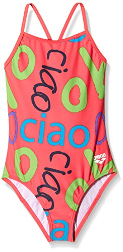 multi Jr Bambina Multicolore Da Drop Costume Arena G colour Ciao Back Light Intero colour Multi XSnWFwqO
