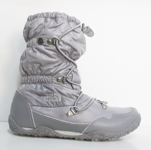 Chaussures Plates Feuille Brillant Winter Gris De North Queen Marche Face Femmes Ice wUxpCIqz