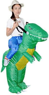 AmaMary T-Rex Costume Disfraz de Dinosaurio Inflable para Niños ...