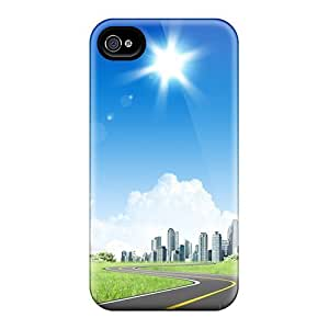 Hot Tpye City In Future Case Cover For Iphone 5/5s