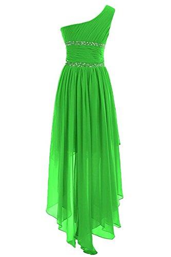 Dresses Prom One Low High 2016 Bridal Dress Women's Anna's Shoulder Black Bridesmaid nqx0Yan