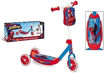Spiderman - Patinete 3 Ruedas con Bolsa (Mondo Toys 18273 ...