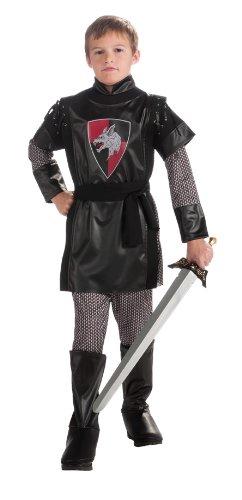 [Boy's Knight Costume, Large] (Big Boy Costumes)
