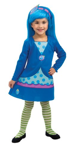 Rubies Strawberry Shortcake and Friends Blueberry Muffin Costume, Toddler