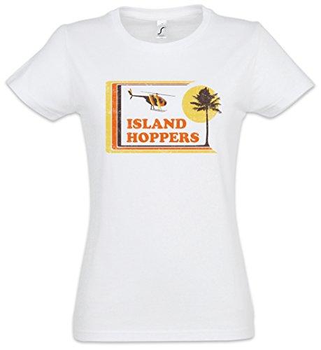 Island Hoppers Hawaii Woman T-Shirt - Tom TV Selleck Thomas Retro Kult Magnum Woman Tank TOP Sizes S - 2XL
