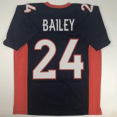 newest b1149 a335f Amazon.com: Unsigned Champ Bailey Denver Blue Custom ...