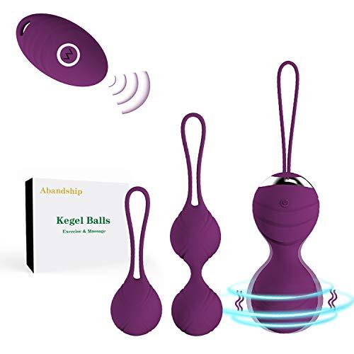 Abandship Kegel Exercise Weights for Women- Ben Wa Kegel Balls for Beginners & Advanced Pelvic Floor Exercises