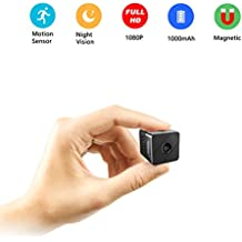Mini Surveillance Camera,Conbrov T33 1080P HD Portable Video Recorder Small Nanny Cam with Night Vision and Motion Detection,Perfect Indoor Security Camera for Home and Office - No WiFi Function