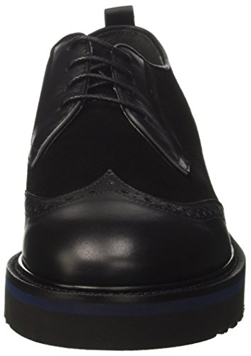 Alberto Guardiani Soho Wear, Scarpe Stringate Basse Oxford Uomo nero