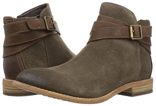 Suede Clarks Stivali Donna leather Olive wftq6tAxY
