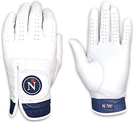 North Coast Golf Co.- Men s Premium Golf Glove, Pure Cabretta Leather