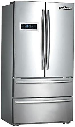 Thor French Door Refrigerator: Thor Kitchen HRF3601F Cabinet