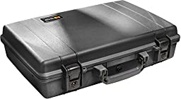 Pelican Laptop Case with Foam - Black (1490-000-110)