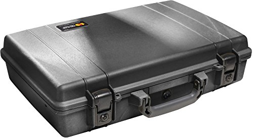 Pelican 1490 Laptop Case With Foam (Black) ()