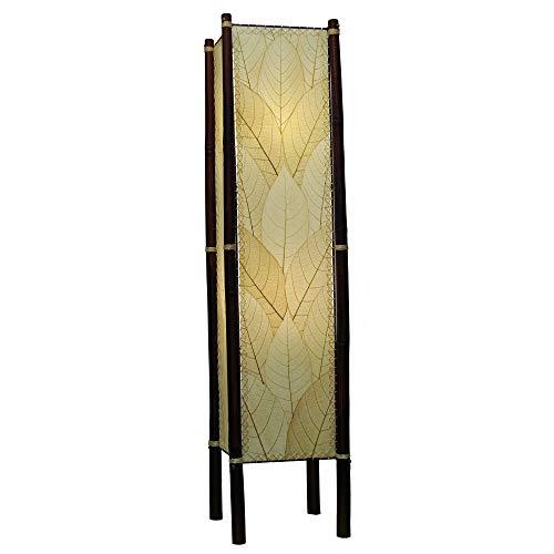 Eangee Fortune SeriesLarge FloorLamp, 48-Inch Tall, Natu