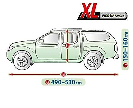 Kegel Blazusiak Vollgarage Ganzgarage Mobile XL Pick up kompatibel mit Volkswagen Amarok Schutzplane Abdeckung