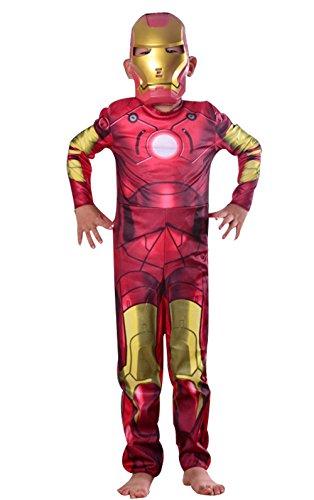 Jamie Baby Halloween Iron Man Suit (M) (Iron Man Halloween Suit)