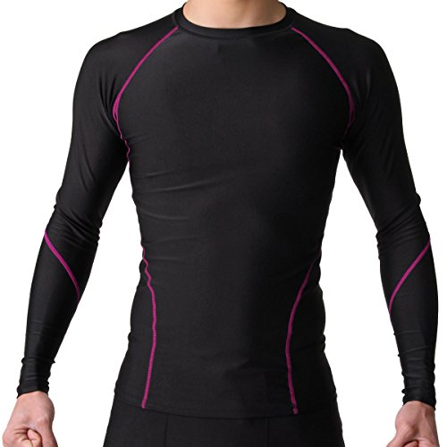 PONTAPES(ポンタペス) 全7色 コンプレッションウェア シャツ 長袖 吸汗速乾 抗菌防臭加工 四季通年用 PCS-500