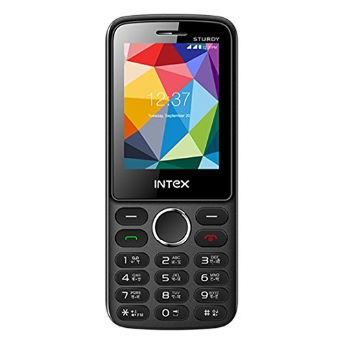Intex IN-STRUDY (Black+Blue)- Unlocked International Model, No Warranty