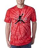 TIE-DYE RED Atlanta Air Julio T-Shirt Adult