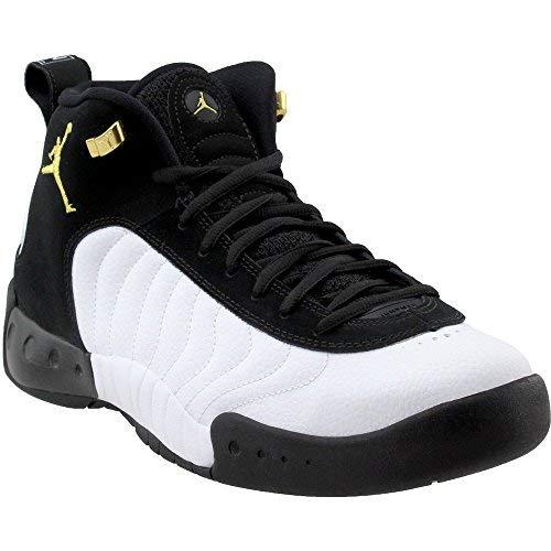 Jordan Men's Jumpman Pro Basketball Shoe, Black/Metallic Gold/White, Size 11 (Grape 10 Size Jordan)
