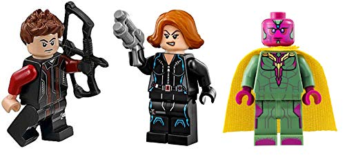 LEGO Super Heroes: Black Widow Hawkeye and Vision - Avengers