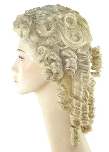 Southern Belle Hair (Banana Curls Costumes Wig)