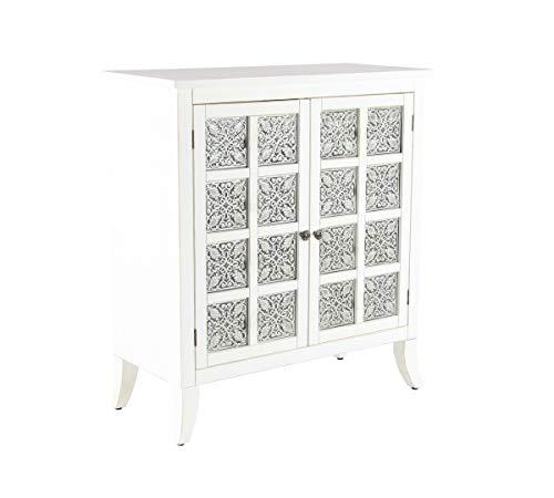 Deco 79 42973 Modern Wood and Metal 2-Door Cabinet, 15