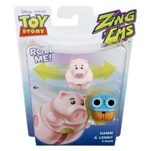 Amazon.com : Toy story Zing Ems Hamm & Lenny 2 Pack ...