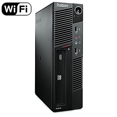Lenovo ThinkCentre Premium High Performance M91P Desktop Computer, Intel Core i5 Quad-Core Processor 3.1GHz, 8GB RAM, 1TB HDD, Windows 10 Home (Certified Refurbished)