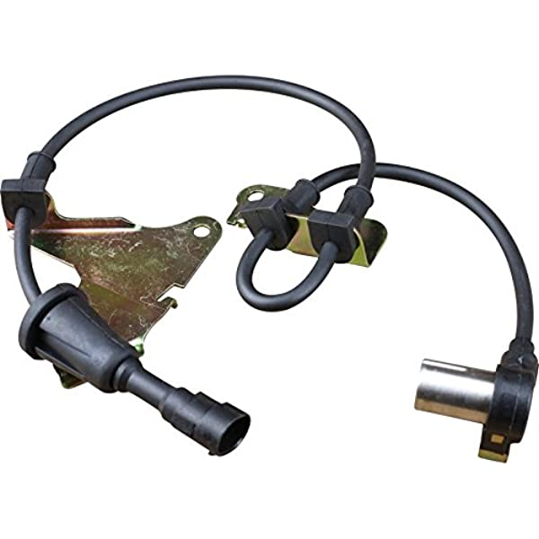 AIP Electronics ABS Anti-Lock Brake Wheel Speed Sensor Compatible Replacement For 1993-2001 Chrysler Dodge and Eagle Right Passenger Front Right Passenger Oem Fit ABS100