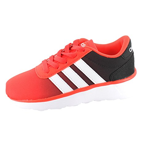 adidas Lite Racer K, Zapatillas Unisex Niños, Rojo (Rojsol/Ftwbla/Negbas), 36 EU