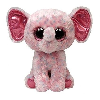 Amazon.com  Ty Beanie Boos Ellie - Elephant Large (Justice Exclusive ... ec65df9c00e