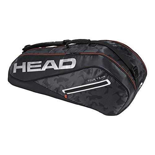 Head HEAD  Tour Team 6R Combi Tennis Bag Black/Silver