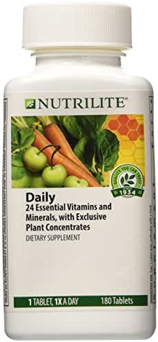 NUTRILITE® Daily Multivitamin Multimineral DIETARY SUPPLEMENT 180 TABLETS