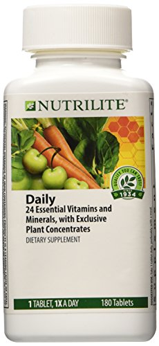 Nutrilite  Daily Multivitamin Multimineral Dietary Supplement 180 Tablets