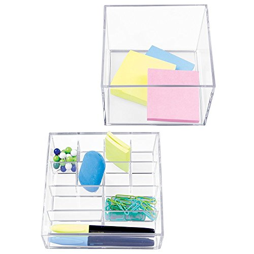 mDesign Supplies Organizer Pencils Highlighters
