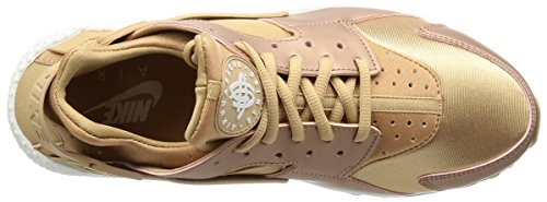 Nike Womens Air Huarache Run Se Redbronze / White 859429-900