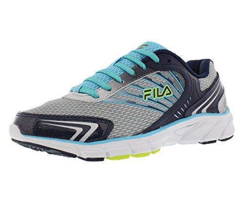 Shoe black Running Fila blue Silver Women's Maranello gqnvtwR