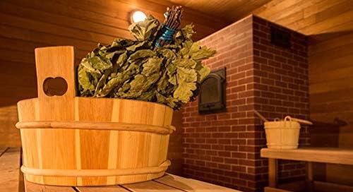 5 oak+5 birch brooms for sauna SEASON 2020 FREE SHIPPING SET of 10 ECO whisks