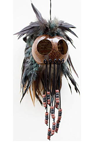 - Large Hawaiian Warrior Ikaika Makaki'i Helmets (Natural Brown)