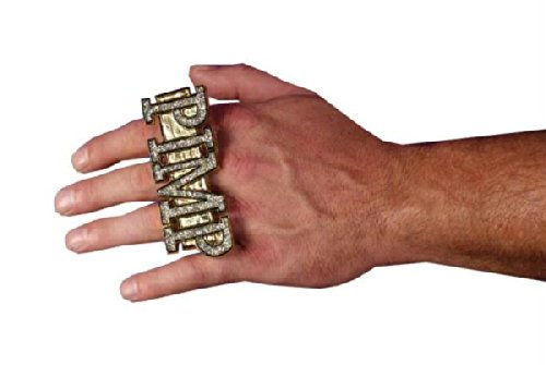 Bling Rings w/ Dollar Signs Halloween Accessory