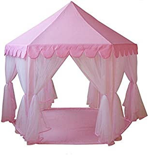 GreEco Princess Castle PLay Tent Fairy Princess Castle Tent Extra Large Room Pink  sc 1 st  Amazon.com & Amazon.com: Sherosa Kids Indoor Princess Castle Play Tent ...