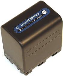 Battery for Sony NP-QM91D Handycam HVR-A1 DCR-HC14