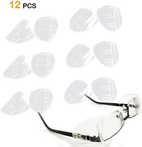 Glasses Shields Safety Flexible Universal
