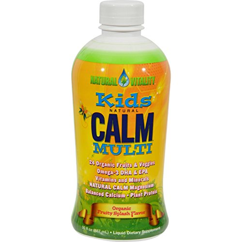 Price comparison product image Natural Vitality Kid's Natural Calm Multi Fruity Splash - 30 fl oz Toys Christmas Gift