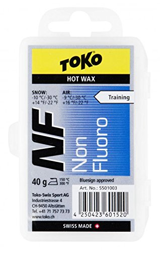 Toko Non Fluorinated WAX BLUE -10 to -30 degrees (40gm)