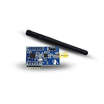 WeBee Industrial ZigBee to Serial Uart Transceiver Module,TI CC2530+CC2591 ZigBee wireless PA module